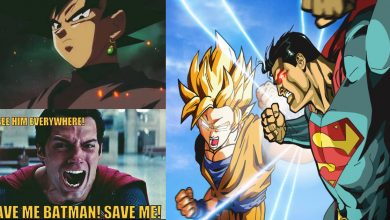 Epic Superman vs Goku Memes