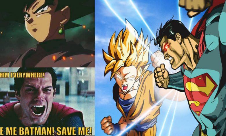 Epic Superman vs Goku Memes