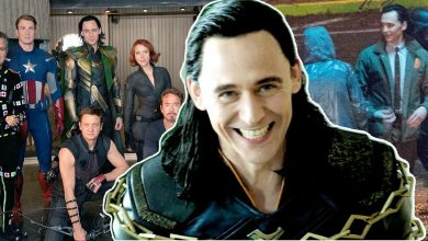 Photo of 20 Best And Unseen Pictures of Loki From Film Sets