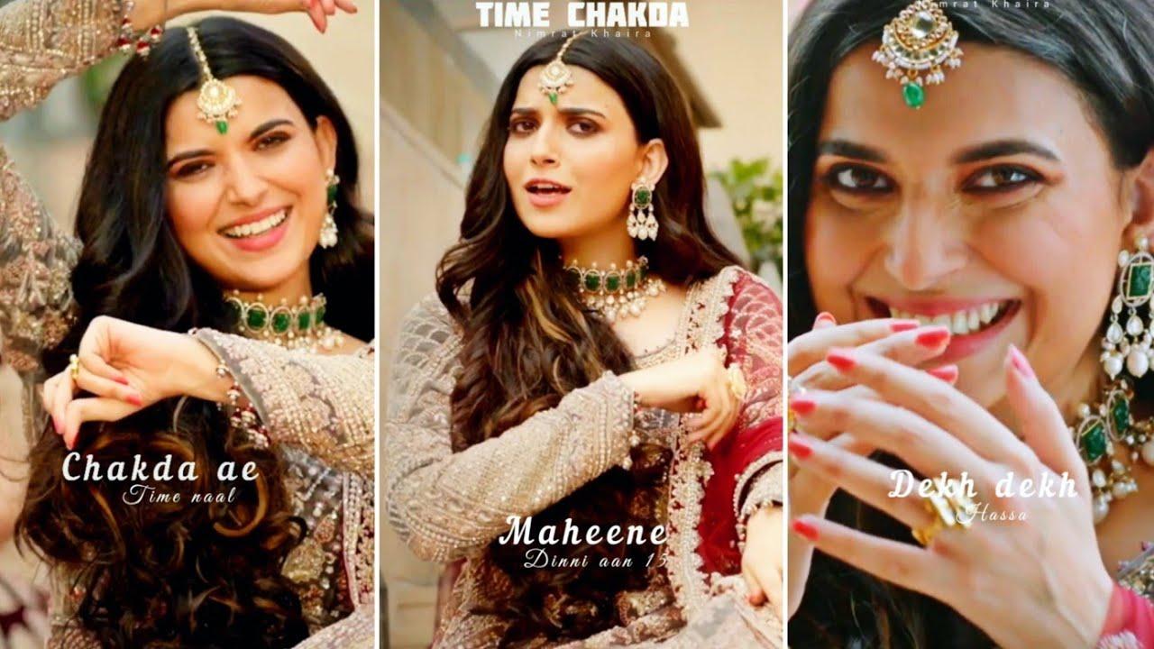 time chakda by nimrat khaira lyrics