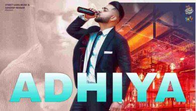 Photo of Adhiya By Karan Aujla Mp3 Download in High Quality Audio