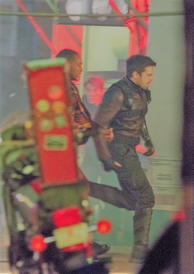 Unseen Behind-The-Scene Pictures From 'Falcon And The Winter Soldier' Set