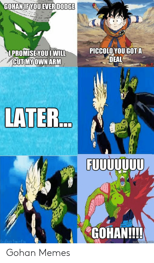 funniest piccolo memes on the internet