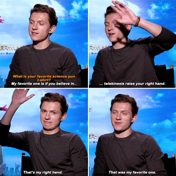 "Tom Holland Interviews Proving He is ""Real Life"" Peter Parker"
