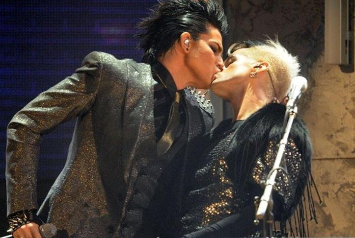 Infamous Celebrity Kisses