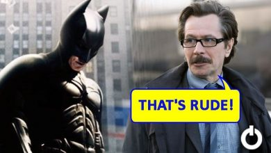 Batman Rudely Left