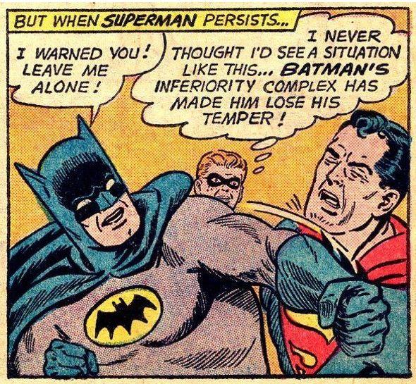 Why Batman Hates Superman