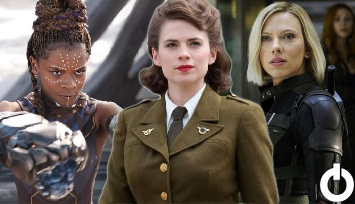 Female Superheroes Without Superpowers