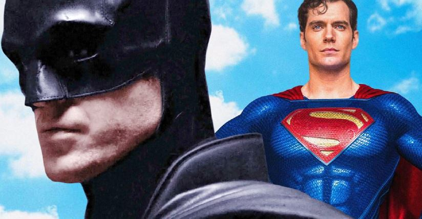 Superman Spotted on The Batman Set