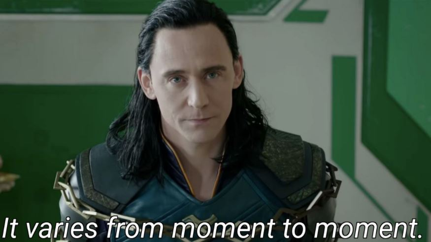 Replies of Loki in MCU