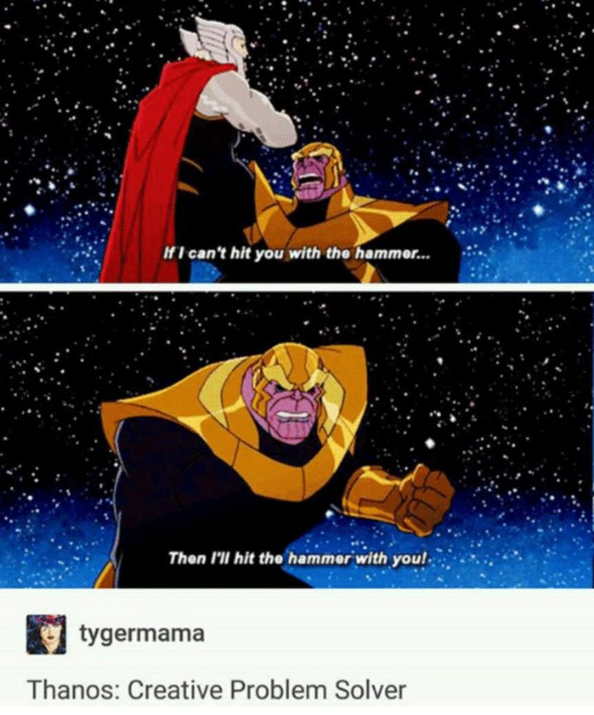 Memes Prove Thanos Funniest Character