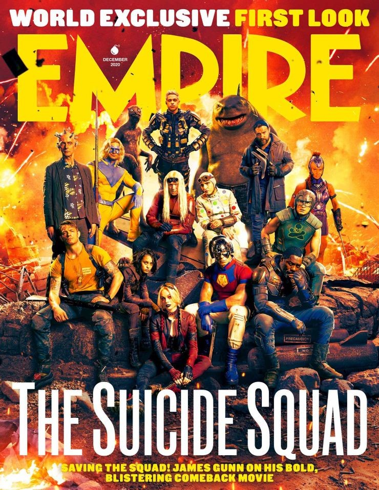 The Suicide Squad Magazine Covers Show Exclusive Look