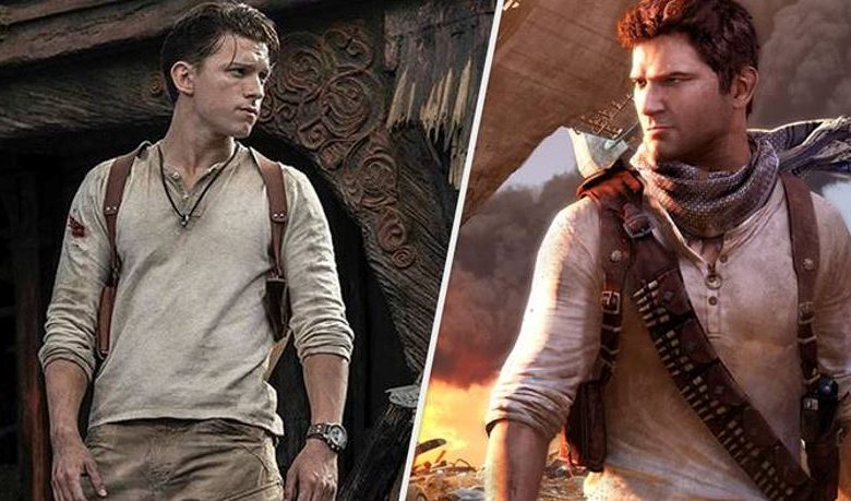 Uncharted – Tom Holland First Look as Nathan Drake