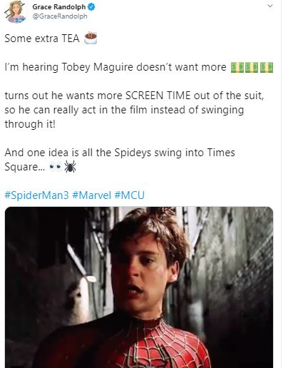 Tobey Maguire Join MCU's Spider-Man 3