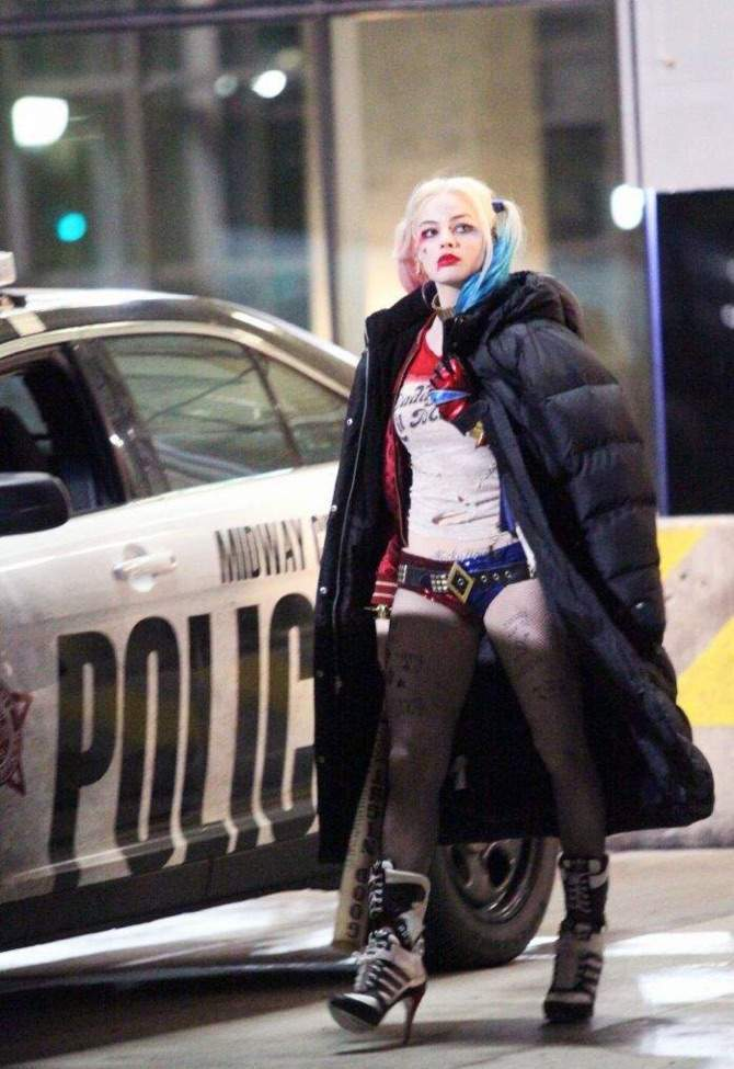 Harley Quinn Unseen Pictures From The Sets