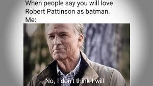 Ben Affleck's Batman Vs Robert Pattinson's Batman Memes