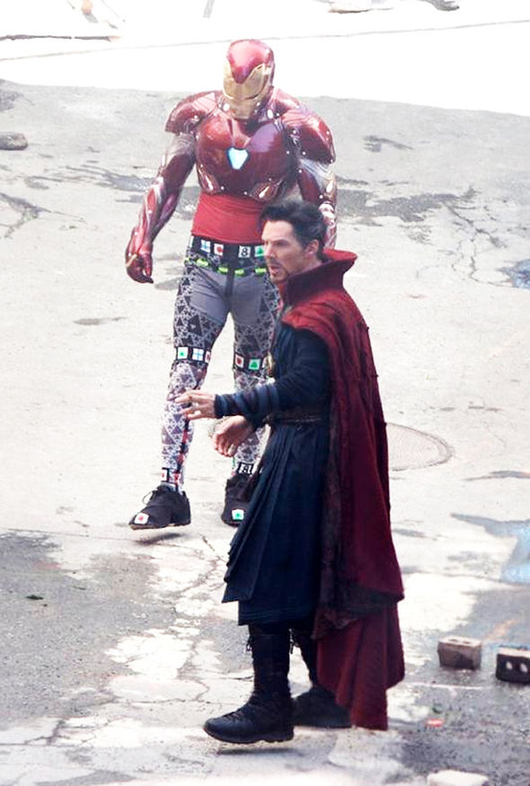 Unseen Pictures of Doctor Strange From Marvel Movie Sets