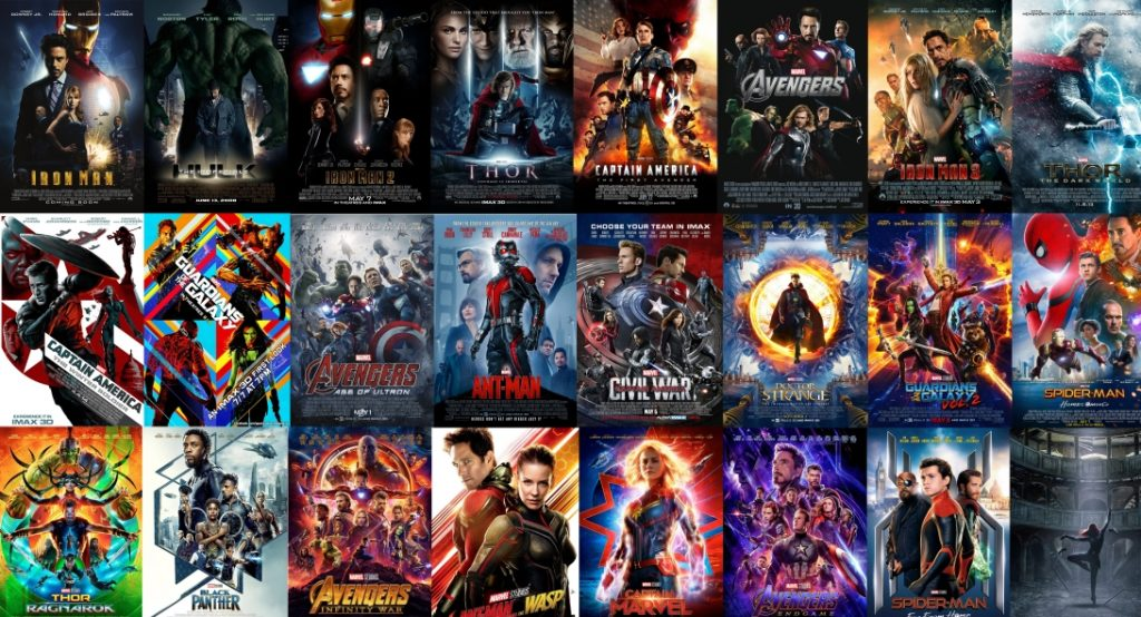 Official MCU New Timeline