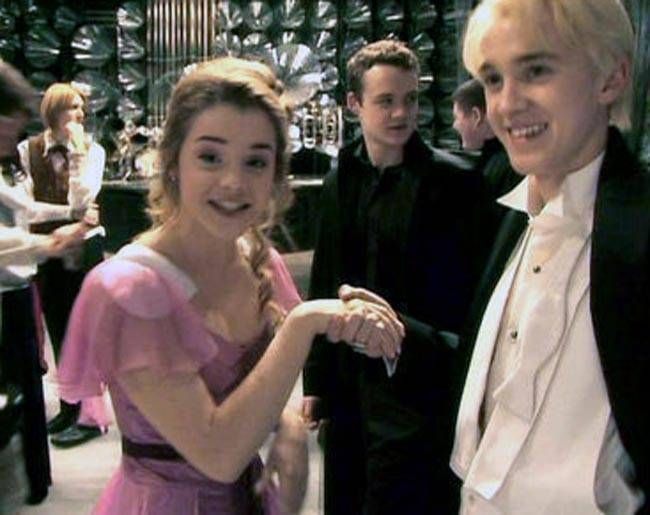 Wizardly Behind-The-Scenes Moment From Harry Potter Films