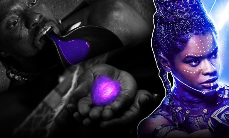 Shuri Synthesize a New Heart Shaped Herb In Black Panther 2