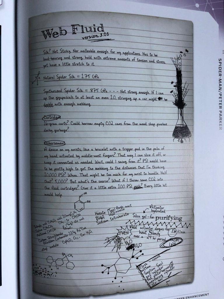 How Peter Parker Designed his Web Fluid & Web Shooters