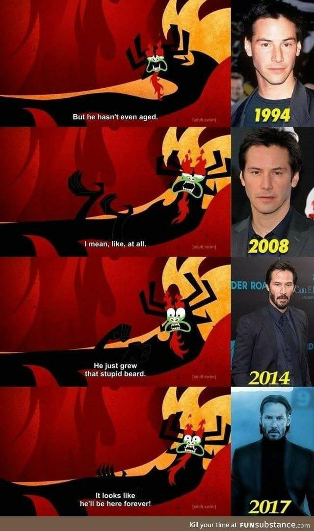 Internet Loved Keanu Reeves