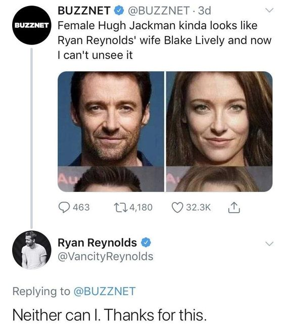 Ryan Reynolds And Hugh Jackman Trolled Each Other