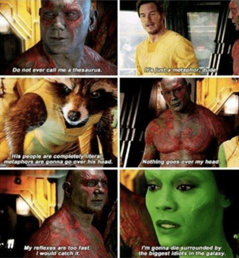Guardians of The Galaxy Badass