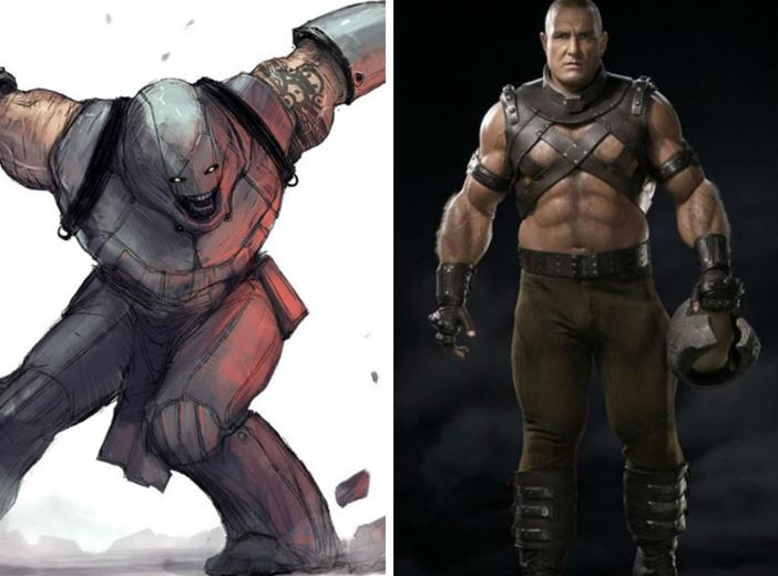 Characters Concept Art Ruined