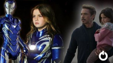 Photo of Avengers: Endgame – Little Morgan Stark Suits Up As Rescue