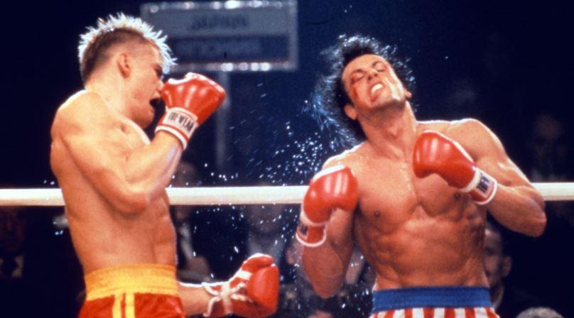 Rocky IV Stallone In ICU