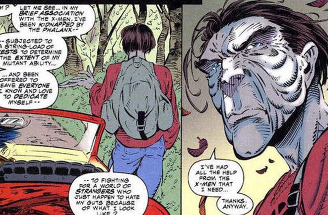 X-Men unfortunate mutations