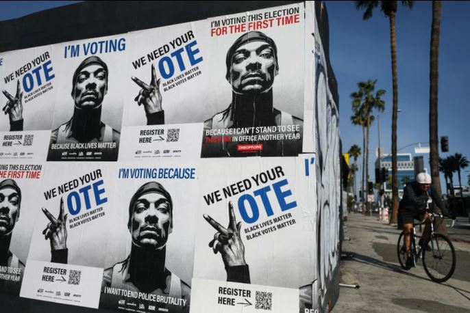Celebrities Voted 2020 Elections