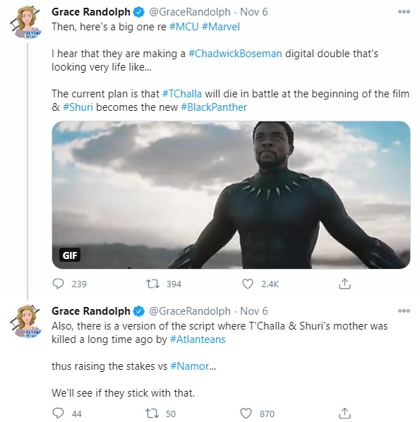 Shuri Will Be Black Panther