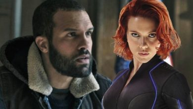Photo of New Black Widow Photos Possibly Reveal The Man Behind Taskmaster's Mask