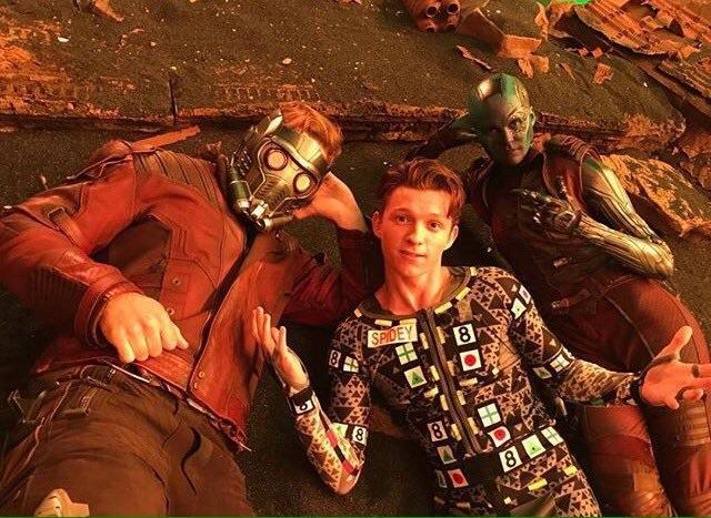 Unseen Marvel Set Photos of Spider-Man