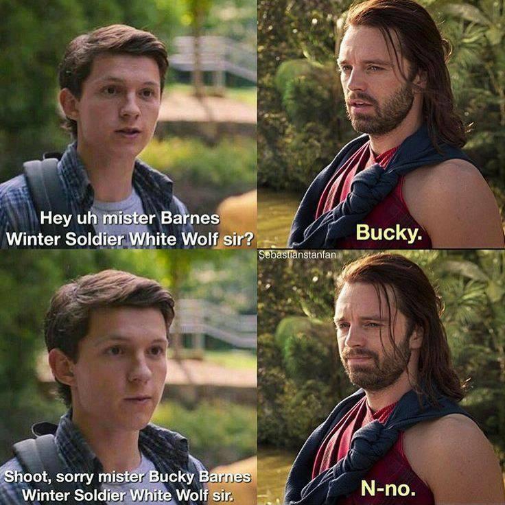 Internet Trolled Bucky Barnes aka The Winter Soldier