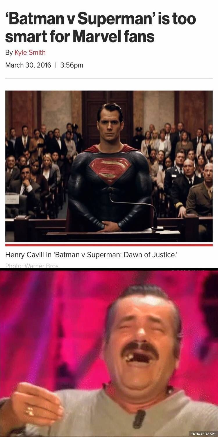 Marvel Fans Trolled DC Movies