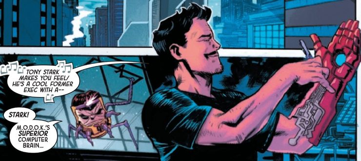 Tony Stark Loves The Theme Song Created In His Honour