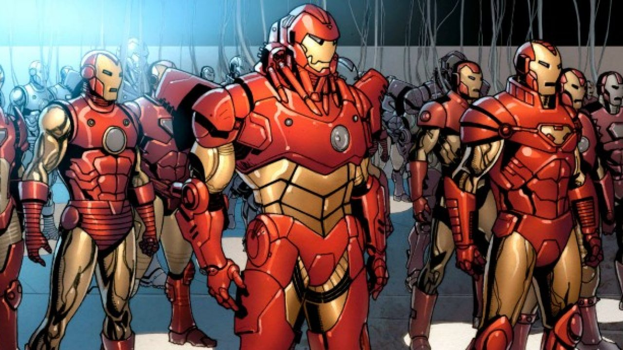 Iron Man Most Powerful Armor