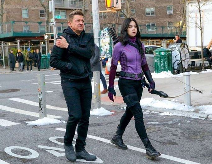 Hawkeye Set Photos Reveal New Details About The Series
