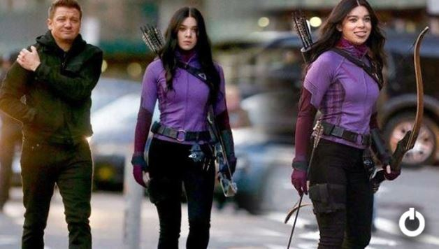 Kate Bishop In Purple Combat Suit