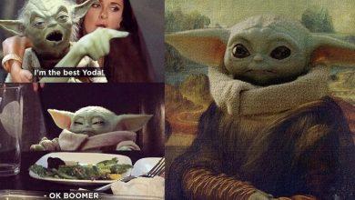 Trolling Baby Yoda