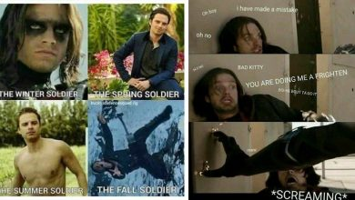Internet Trolled Bucky Barnes aka The Winter Soldier