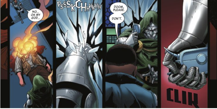 Doctor Doom Reveals Powerful Artefact