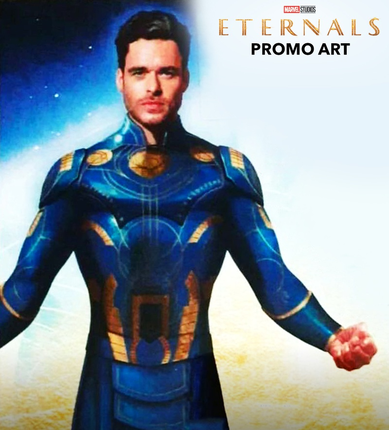 Eternal's Leak Richard Madden In MCU Superhero Costume