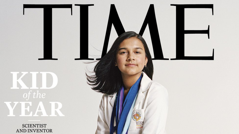 Marvel's Hero Project Star Gitanjali Rao Named TIME's Kid of the Year