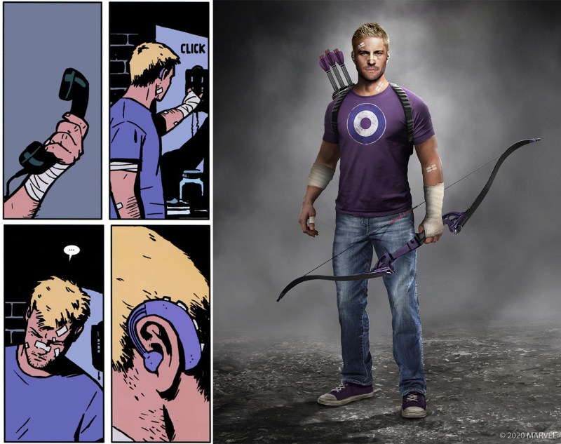 Hawkeye Set Photos Hint At Clint Barton's Hearing Loss