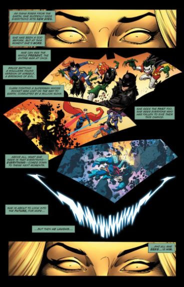 Wonder Woman Copied Thanos Move