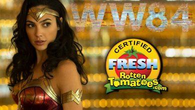 Wonder Woman 1984 Rotten Tomatoes Score